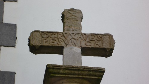 Enigmática cruz de Hendaia