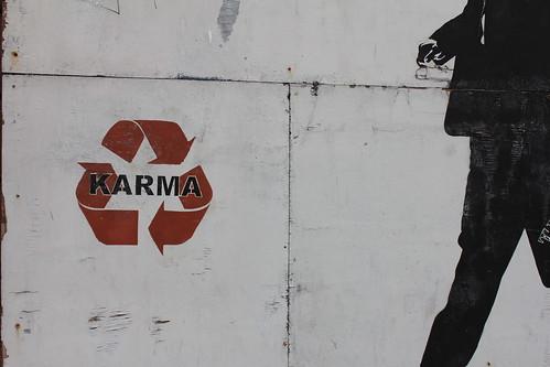 Karma was here
