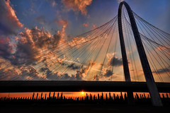 Over the sun under the bridge [Explore] [Front Page] [Getty Images] (neimon2 (too busy, sorry for my temporary silence)) Tags: bridge santiago italy architecture modern lights nikon highway italia north cable illuminated ponte emilia explore architect calatrava nocturne nord gettyimages stayed reggio romagna d90 sospeso nellemilia top20bridges strallato neimon2