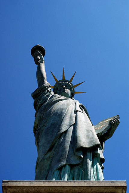 #116 - Statue of Liberty Replica