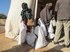 Refugees in Kenya receive food from USAID (USAID Africa) Tags: africa food kenya drought humanitarian