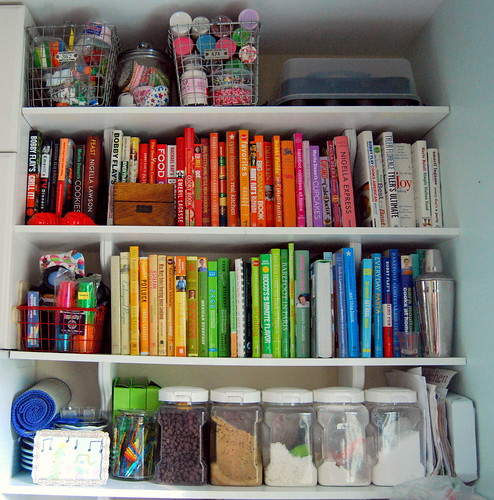 Mission  Organization - Open Shelving