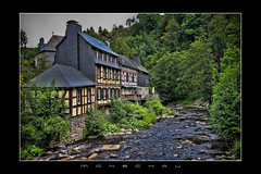 Monschau ( Montjoie) Germany/Allemagne (SergeK ) Tags: park houses nature river germany town europe maisons tourist rivire eifel historic hills valley venn allemagne monschau ville attraction halftimbered burg touristique collines populaire colombages valle rur hohes montjoie villagesetvilles 2011sergek clothmills northeifel