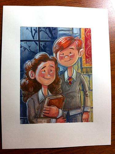 Ron and Hermione - Finish