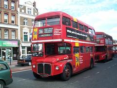 London Central RM1980 (ALD 980B) Lewisham 31/8/00 (jmupton2000) Tags: london buses ahead general go central routemaster rm aec prv rml ald980b