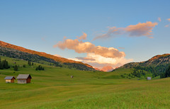 The Meadows of Pltzwiese.... Summer (Beffy the Witch) Tags: alps clouds landscape trentinoaltoadige pratopiazza cadinidimisurina pltzwiese beffythewitch mountainsmeadows