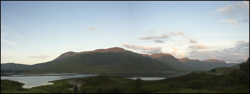 Loch Cluanie at Sunrise