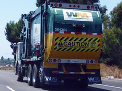 Waste Management Truck (Photo Nut 2011) Tags: california trash truck junk sandiego wm freeway sanitation garbagetruck wastemanagement trashtruck wastedisposal 264302