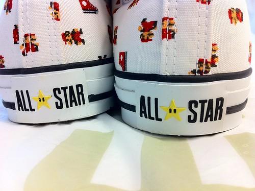 CONVERSE(コンバース) ALL STAR SUPER MARIO BROS.PS HI(オールスター スーパーマリオブラザーズ)