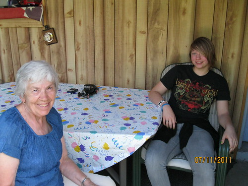 7/11/11: Katherine spent time with Babcia
