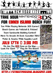 StreetPassNYC_ConeyIsland_Flier (StreetPassNYC) Tags: street new york city nyc cats ny beach square island video 3d fighter soccer union nintendo meeting evolution super mario games ridge gamer link pro zelda plus warriors giants samurai coney combat edition dinosaurs zone sims 3ds pikmin racer samus screem nintendogs chornicles ssf4 pes2011