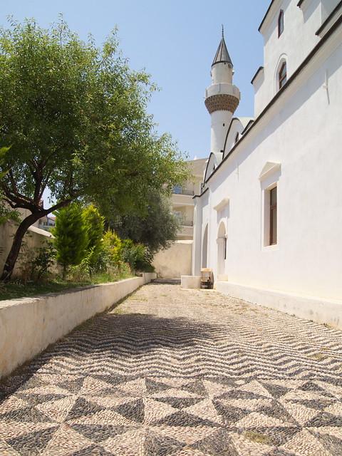 清真寺內漂亮的地磚