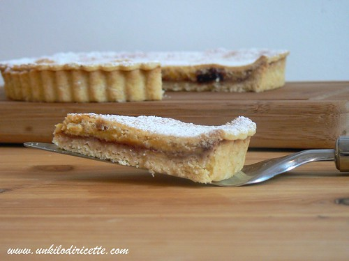 Crostata crema pasticcera e amarene #2