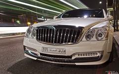 Cruiserio (M.Basil) Tags: street white london al united kingdom harrods knightsbridge saudi arabia sheraton coupe ksa maybach sloane 2011  yazeed   rajhi xenatec