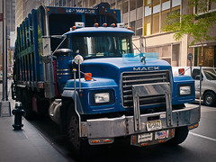 Truck - LR3-7118735-web (David Norfolk) Tags: newyork unitedstates olympus newyorkstate e3 mack 1260mm sanjuanhillnewyork west47thstreetsanjuanhillnewyorknewyorkstateunite