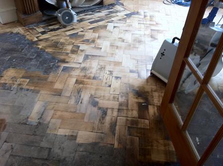 Columbian Pine Parquet Floor 1