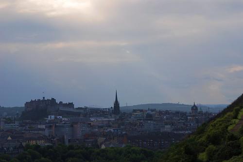 Edinburgh Castle from Arthur's Seat