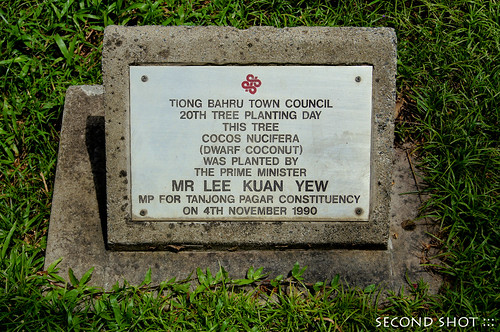 Planted by Lee Kuan Yew