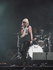 DSCF3561 (warrmr) Tags: music photography boobs donnington download nippletape boobslip taylormomsen theprettyreckless download2011 thegossipgirl taylormomsennipple