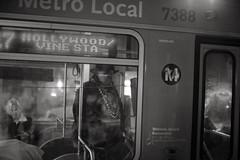 . (Tom Andrews) Tags: bus la losangeles publictransportation metro hollywood streetartist bxw metrolocal tomandrews streetrapper hollywoodrapper rapperonbus