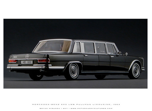 Mercedes-Benz 1963 600 LWB Pullman Limousine