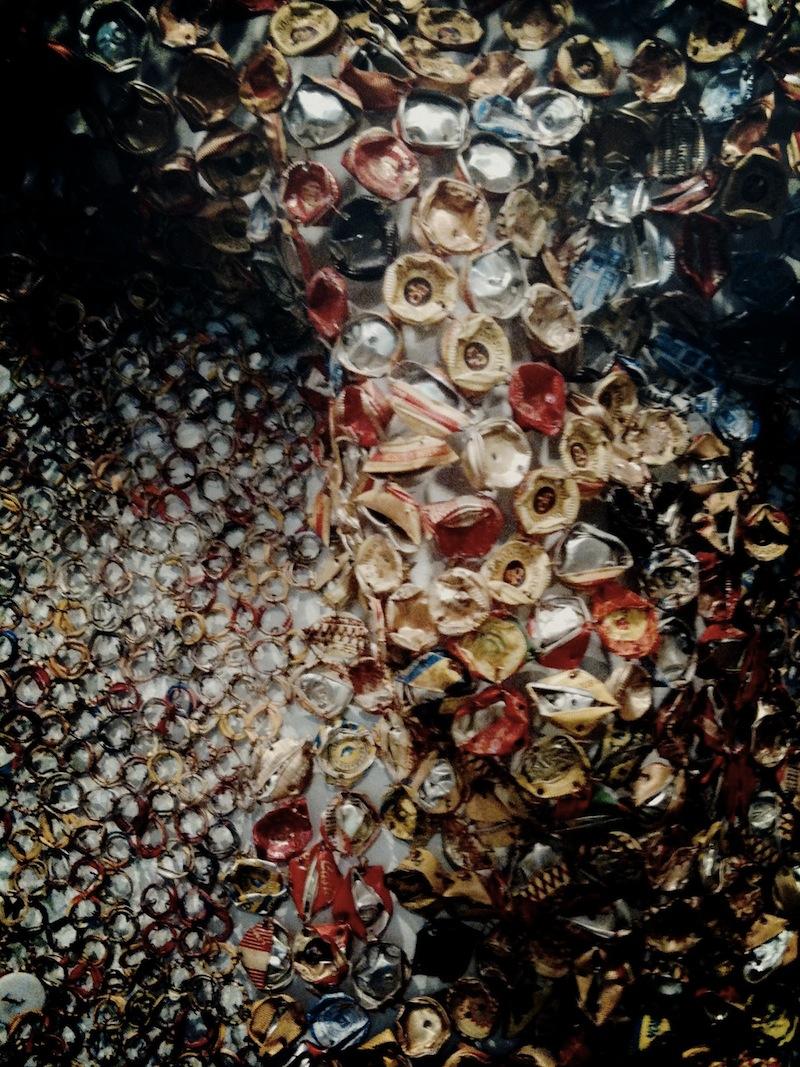 El Anatsui recycled wall art 9
