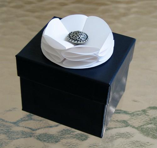 Terraskin white soufflé flower
