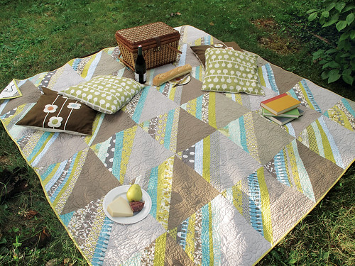 Stripy Quilt Idea