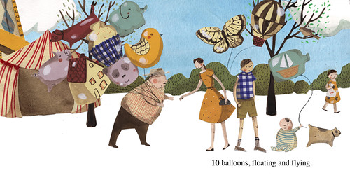10 balloons by emma block