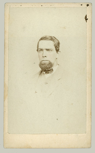CDV Man with goatee