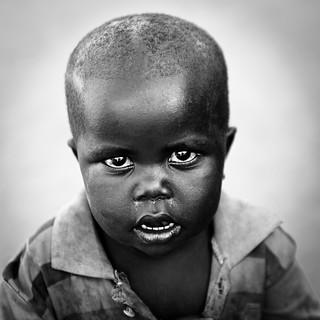 Child look - DR CONGO -