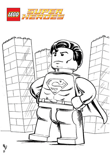 lego marvel heroes coloring pages - photo#18