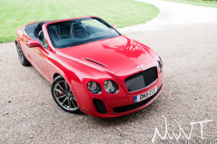 2011 Bentley Continental GTC SuperSports in Red (NWVT.co.uk) Tags: light red car painting photography long exposure paint williams nick continental automotive super supercar bentley gtc supersports 2011 nwvt