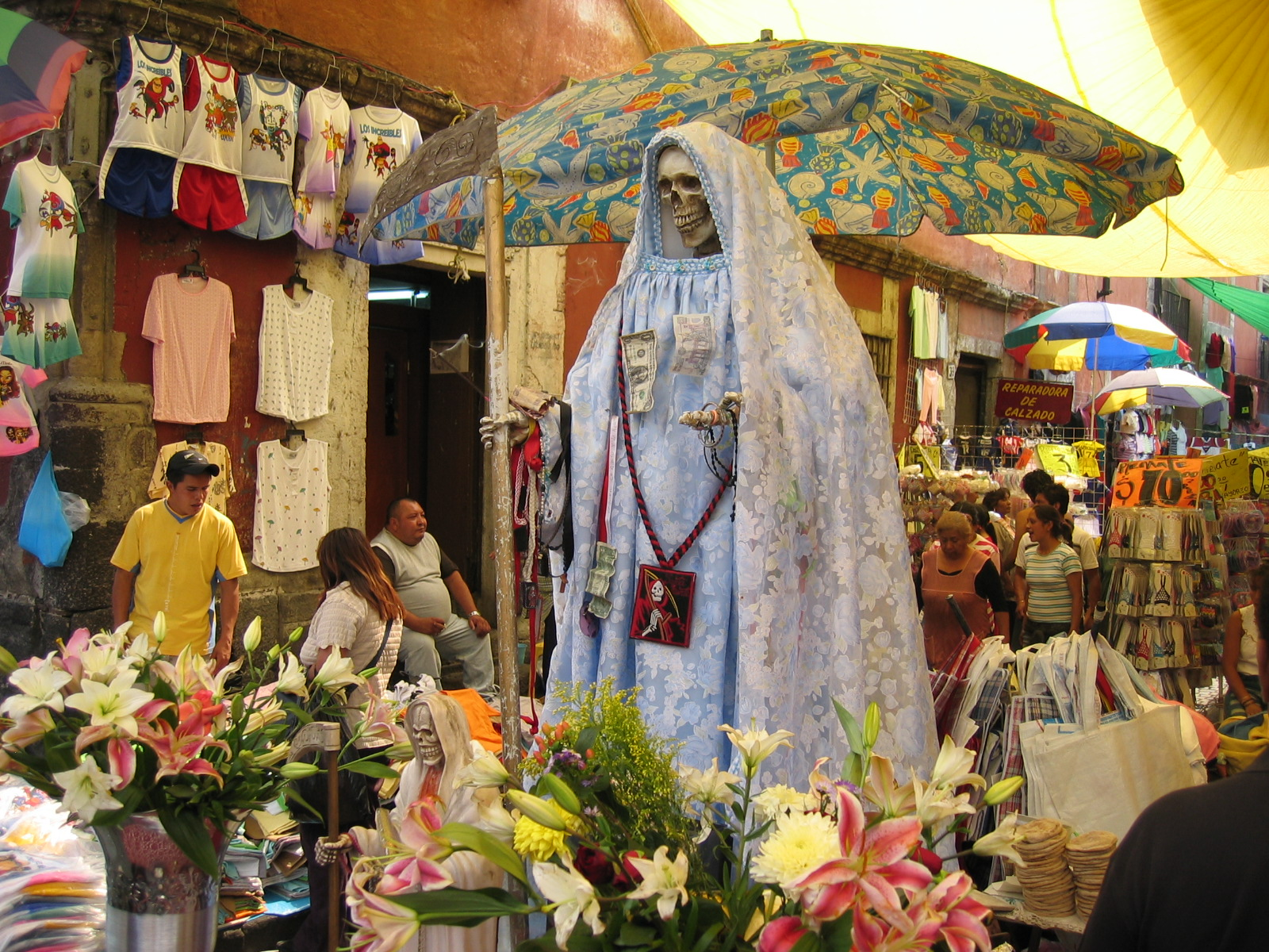 Shrine to Saint Muerte