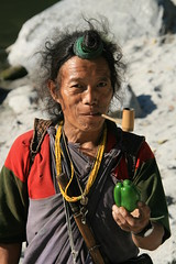Nice pipe ! on the Kameng river Adventure rafting and Kayaking trip