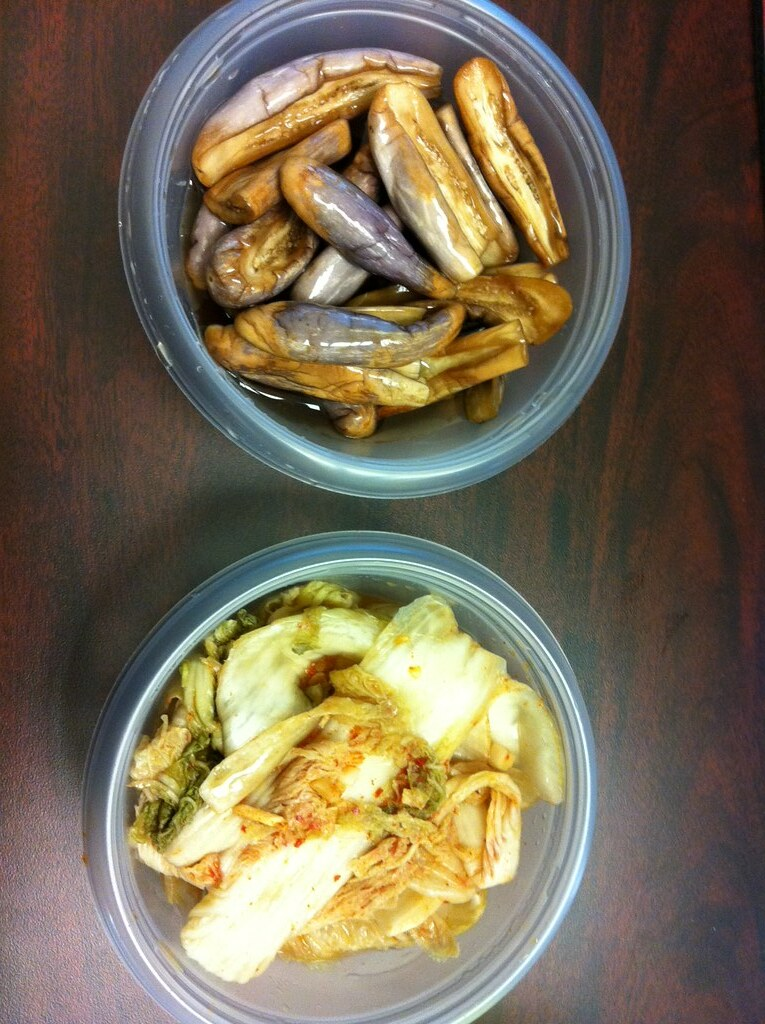 Rep. Colleen Hanabusa's homemade kim chee and tsukemono. Photograph courtesy of Ashley Nagaoka.