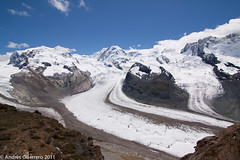 gornergrat (Andrs Guerrero) Tags: mountain snow switzerland suiza nieve gornergrat zermatt montaa