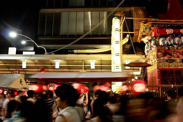 The Gion Festival (祇園祭)