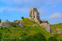 corfe castle (gmj49) Tags: castle sony dorset corfe gmj a350