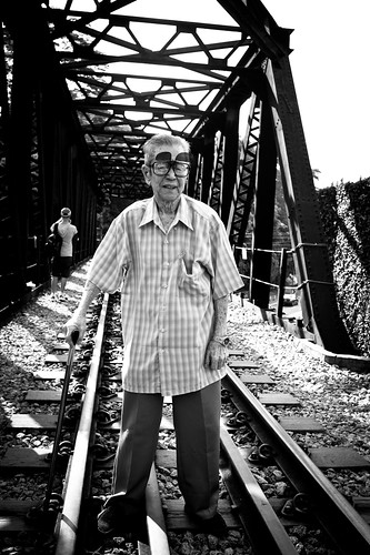 Mr Lee, former KTM worker responsible for maintaining the tracks