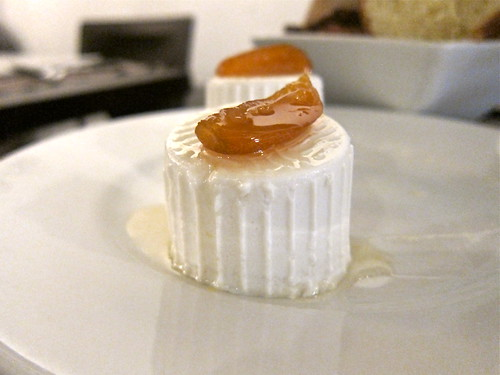 Ricotta & Candied Orange Peel Amuse Bouche 2