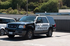 A Police SUV Parked in a Lot (rocketdogphoto) Tags: california usa policecar sanpablo contracostacounty fordexpedition sppd sanpablopolicedepartment