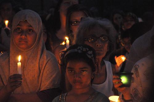 Leiby Kletzy Candle Light Vigil 7/24/11