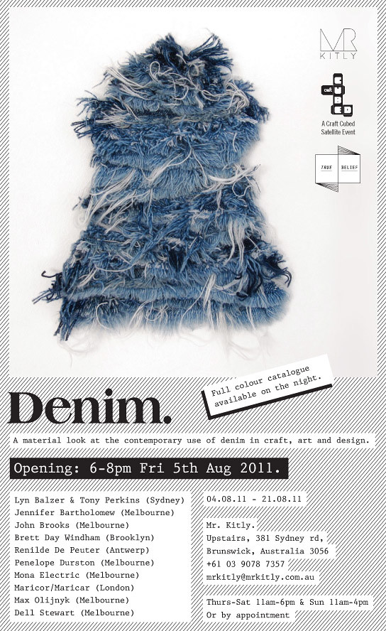 denim invitation