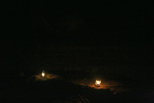Oil lamps for atmosphere