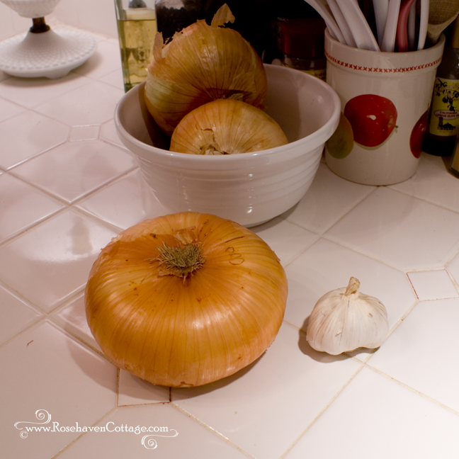 A mongo Vidalia onion all the way from Georgia