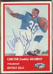 1963 Fleer - 23 - Cookie Gilchrist