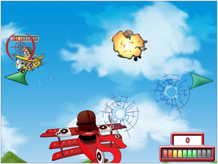 Flying Colors Bonus Game