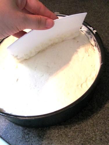 No-Bake Low-Fat Strawberry-Rhubarb Cheesecake