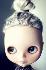 self-inflicted time-out (libbalu) Tags: doll plastic mohair blythe custom takara fable bba ebl moofala